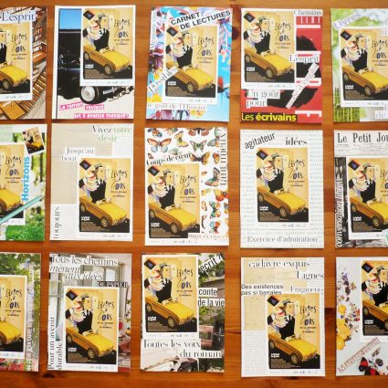 Mail art «Livres à vous !»